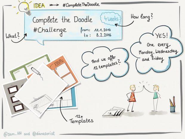 #CompleteTheDoodle Challenge