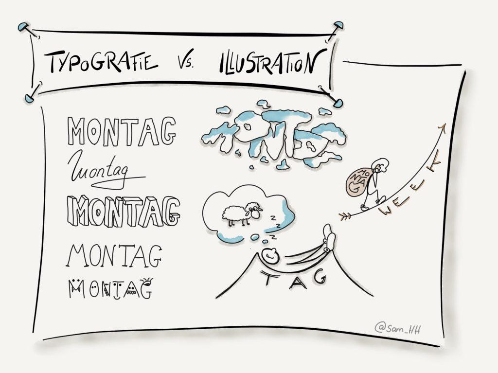 Typografie vs Illustration